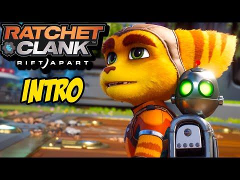 INTRO | Ratchet U0026 Clank Rift Apart Gameplay Walkthrough Part 1 (PS5)