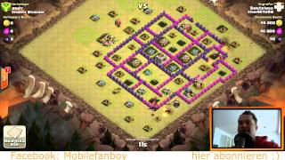 [facecam] Clash of Clans || CLAN WAR WIN 6 STERNE! || Let's Play Clash of Clans [HD]