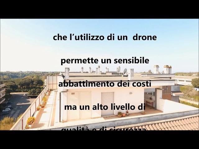 Video Ricognizione Aerea - Edilizia - Sicurezza Facciata Edificio Condominio