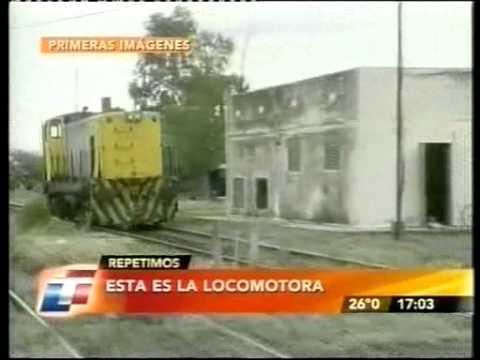 Tren descontrolado en Argentina