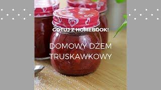Domowy dżem truskawkowy #homebookgotuje