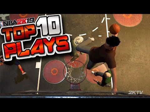 NBA 2K19 First Official TOP 10 Plays Of The Week - Ankle Breakers, Double Lobs & More
