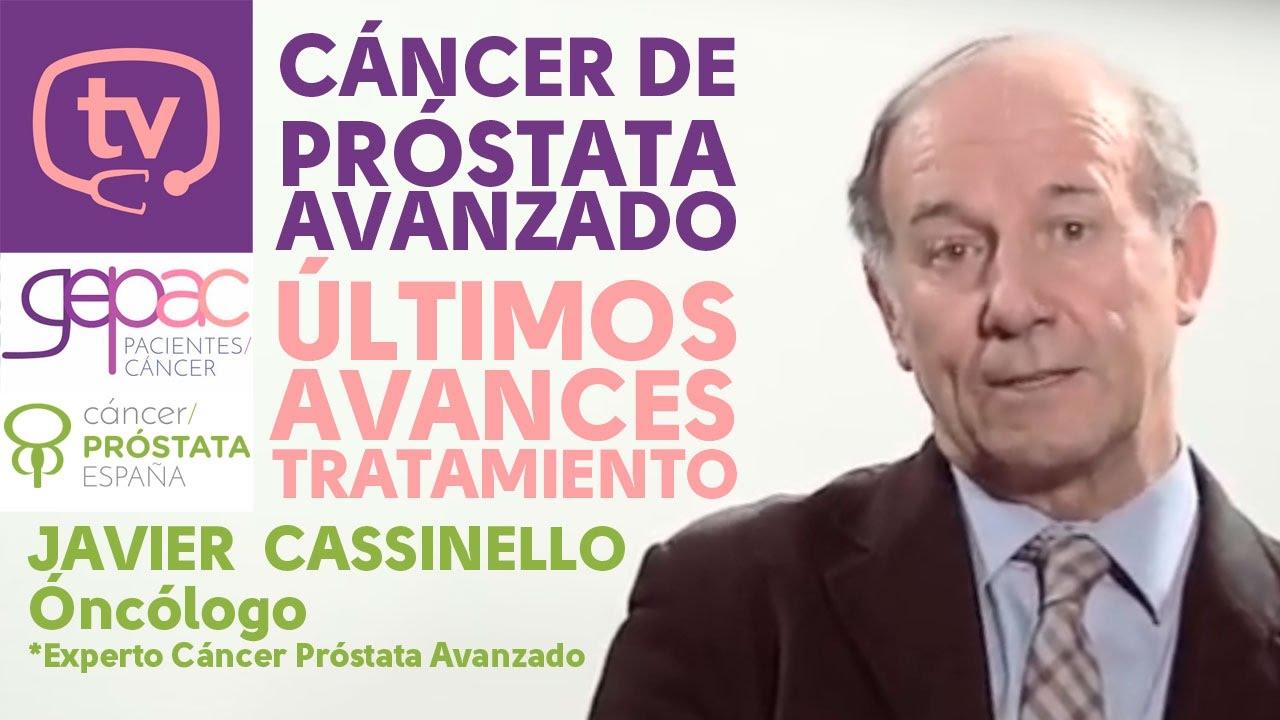 manejo avanzado del cáncer de próstata