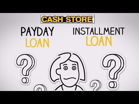 Payday Loan Or Installment Loan?