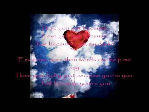 Anita Baker - Just Because with lyrics