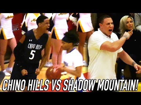 Chino Hills VS Mike Bibby BEAST Team Of ALL GUARDS! Will Pluma RETURNS + Jaelen House SNAPS!