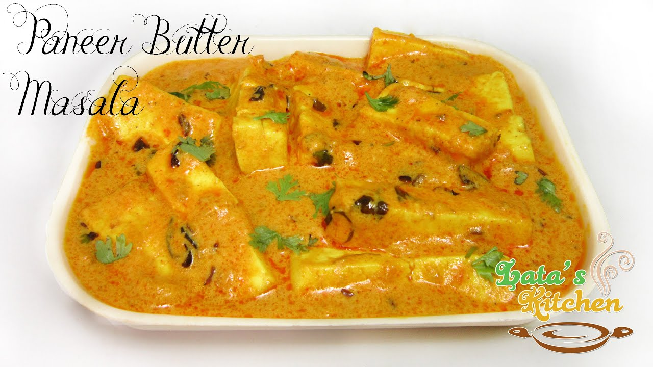 Paneer butter masala recipe restaurant style butter paneer masala paneer butter masala recipe restaurant style butter paneer masala recipe video latas kitchen youtube forumfinder Images