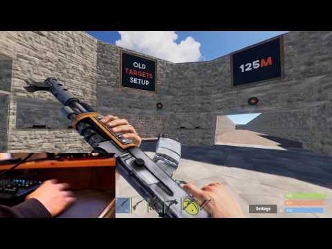 Rust | Ak Recoil Tutorial. Tips and Tricks with (Hand Cam)