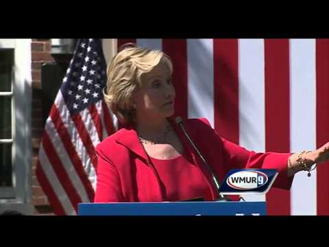 Raw video: Jeanne Shaheen endorses Hillary Clinton