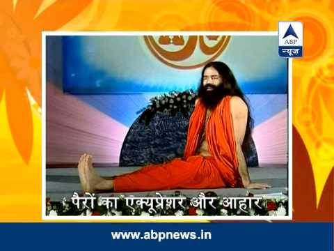 Baba Ramdev's Yog Yatra: Feet Acupressure