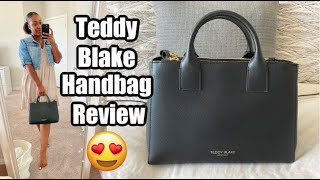 TEDDY BLAKE HANDBAG REVIEW  UNBOXING  FIRST IMPRESSIONS
