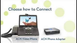 ACN Inc. Digital Phone Service Overview Video.mp4(Show off your creative side with the ACN Video Phone. Put on a personalized show for family and friends and they will be sure to call you back for an encore., 2011-11-14T16:07:33.000Z)