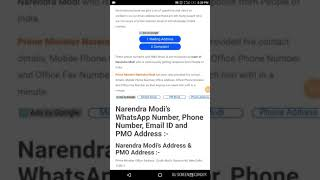 nvn # did e-mail to PM Narendra Modi ID's which is available online.