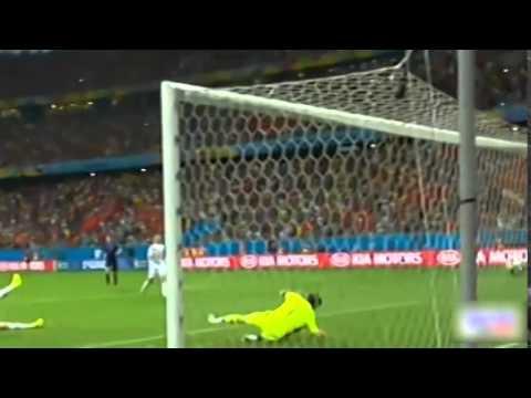 Spain 1-5 Netherlands 13/06/2014