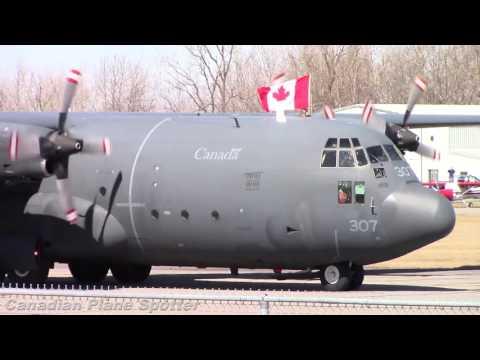 Final Flight! RCAF's Last CC-130E Hercules Landing at Ottawa/Rockcliffe Airport