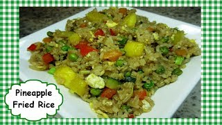 Easy Chinese Pineapple Fried Rice ~ How to Make Chinese Fried Rice Recipe