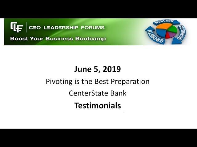 2019 06 05 CEO Leadership Forums CEO Testimonials