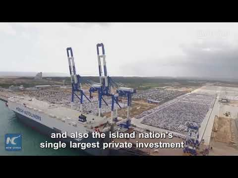 Sri Lanka hands over southern port to China on 99-year lease