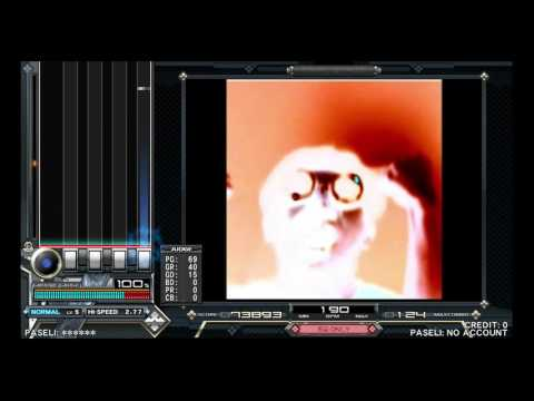 beatmania IIDX 24 SINOBUZ - PARANOiA MAX ~DIRTY MIX~ (SP NORMAL)