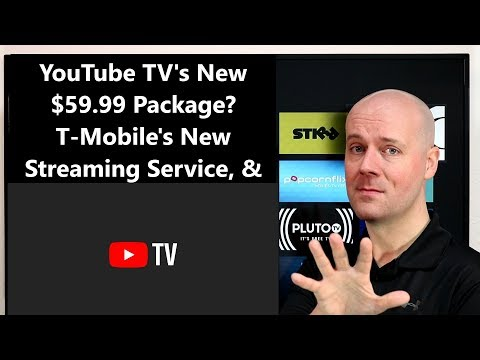 CCT - YouTube TV's New $59.99 Package? T-Mobile's New Streaming Service, & More