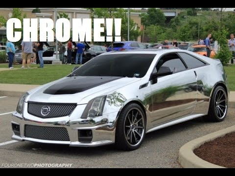 Chrome Wrapped Cadillac Cts V First Video Of My Channel