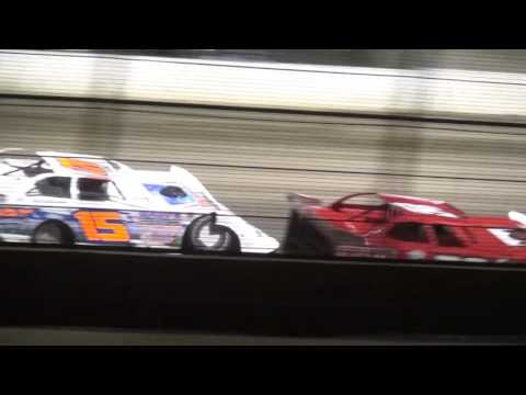Deery Brothers IMCA Late Model Summer Series feature West Liberty Raceway 4/9/16