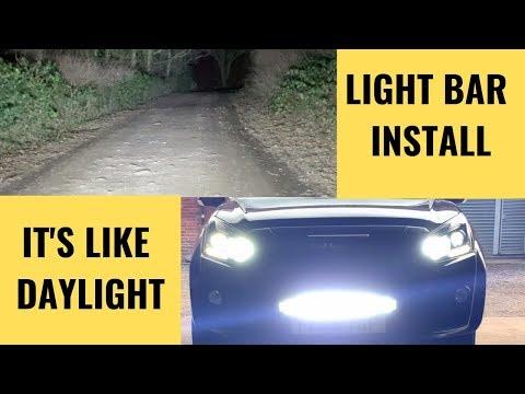Lightbar Install Isuzu D Max