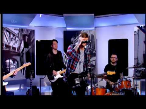 James Arthur Performs Get Down on 'This Morning.' ITV 14th March 2014