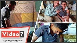 محمد أشرف أشهر منجد كفيف فى كفر الشيخ