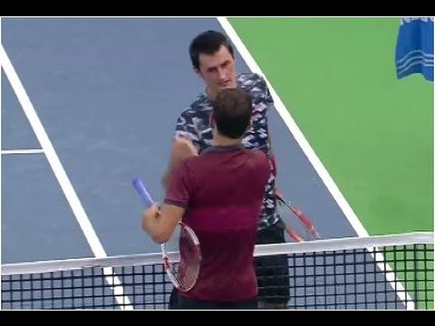 Grigor Dimitrov vs. Bernard Tomic 6-3, 7-5 If Stockholm Open (SF) 18.10.2014.