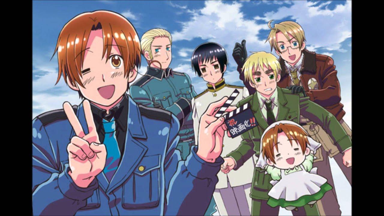砍霍战术谁发明的_Hetalia_Wallpaper_Japan_France - www.qiqidown.com