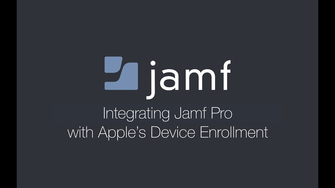 Integrating with Apple's Device Enrollment (formerly DEP