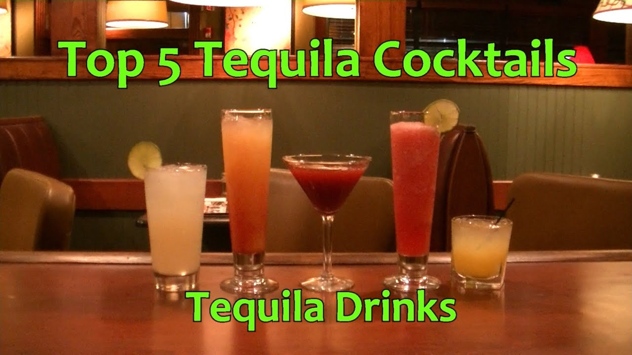 top 5 tequila cocktails best tequila drinks youtube. Black Bedroom Furniture Sets. Home Design Ideas