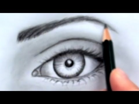 How to draw a realistic eye without time lapse youtube how to draw a realistic eye without time lapse ccuart Gallery