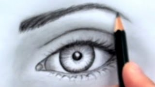 How to Draw a Realistic Eye (Without Time Lapse)