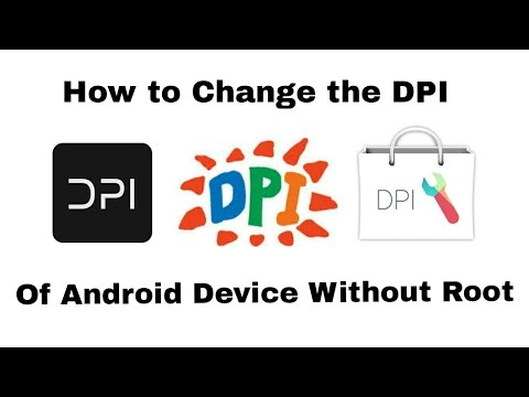 How to Change the DPI of Any Android Device Without Root - YouTube