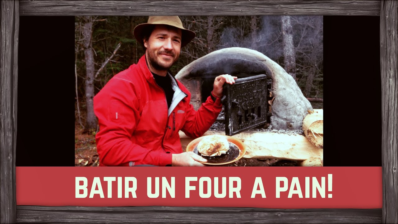 Comment construire un four pain youtube for Four pizza exterieur
