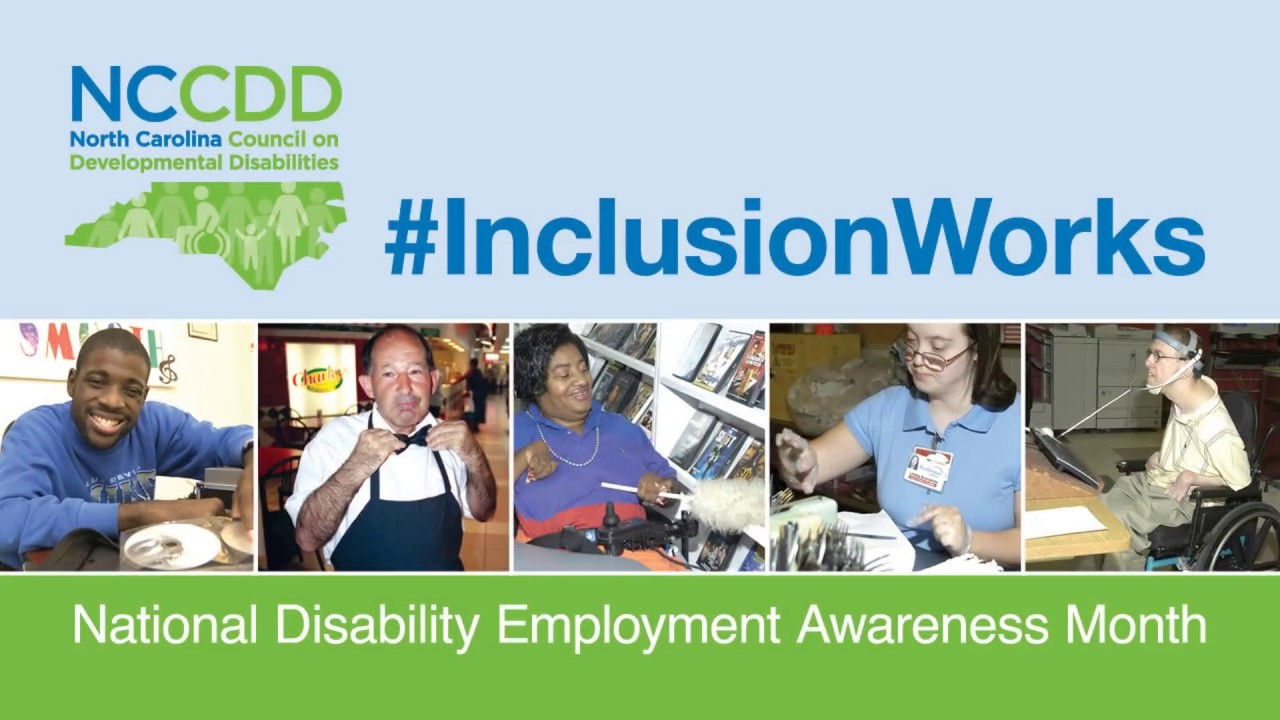 #NDEAM: Kenneth Kelty shares what #InclusionWorks means to him