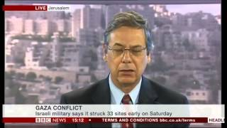 Danny Ayalon on BBC News Channel, August 09, 2014