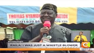 Raila speaks on gold scam