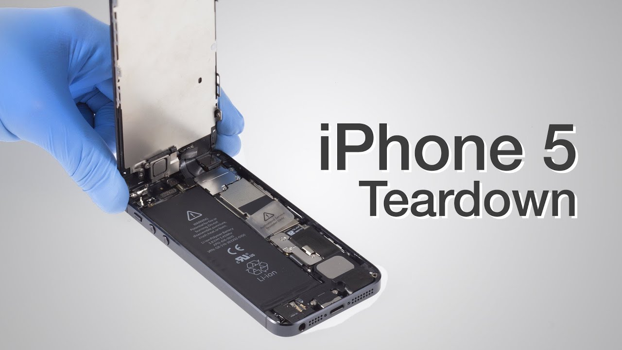 how to change iphone 5 screen iphone 5 teardown step by step complete disassembly 18622