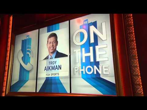 Troy Aikman Talks About His Post-Concussion Test Results - 3/18/15