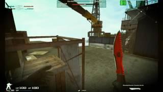 ||Combat Arms|| Gameplay na conta de um amigo testando QBS-95