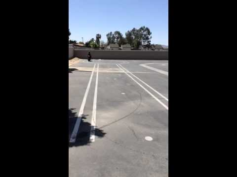 Motorcycle Test in Hemet California