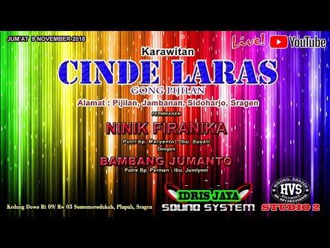LIVE STREAMING PART 2 KARAWITAN CINDE LARAS // IDRIS AUDIO // HVS STUDIO 2