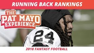 2018 Fantasy Football RB Rankings, Tiers, Sleepers, Busts and Debate