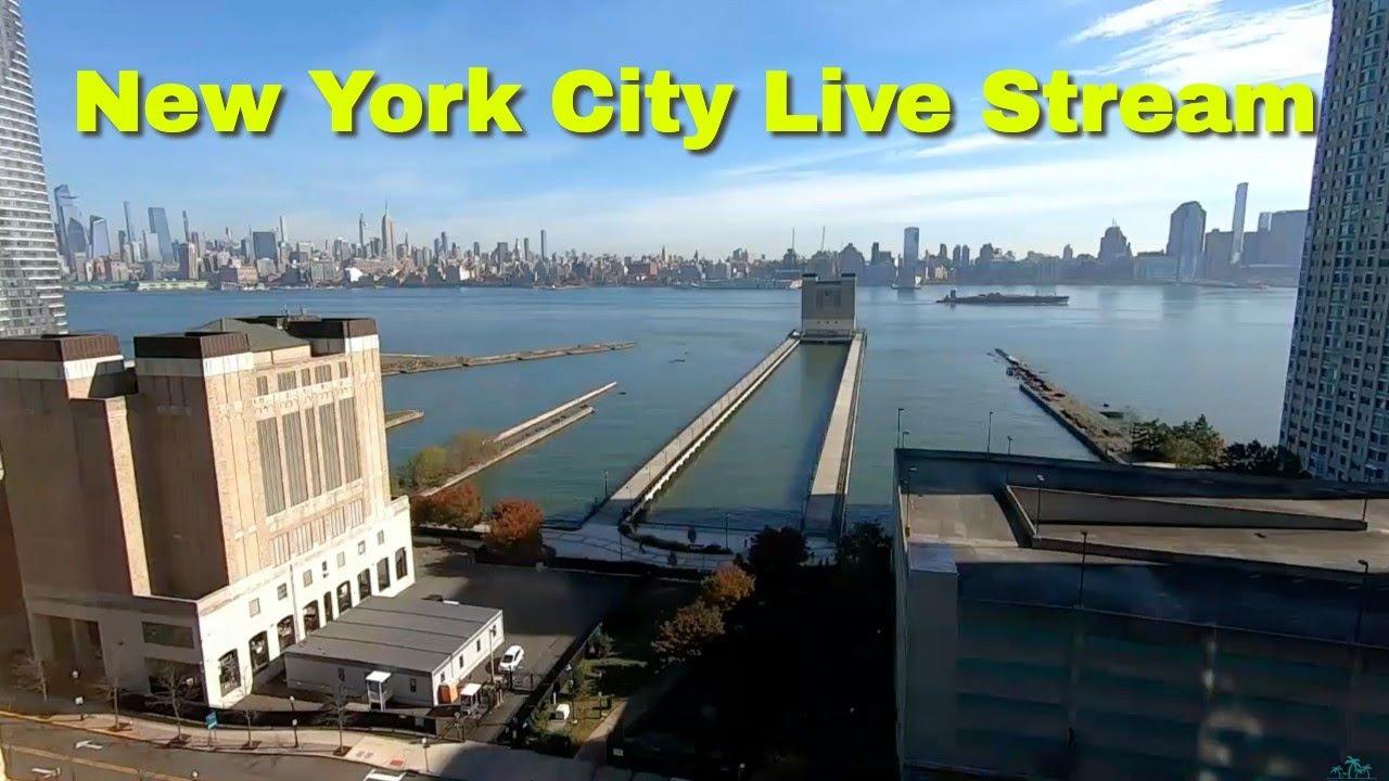 【LIVE】New York City LIVE STREAM!!!! Manhattan and the Hudson River Live Webcam!!!