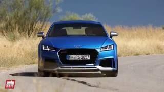 2017 Audi TT RS [ESSAI VIDEO] : Transe miniature