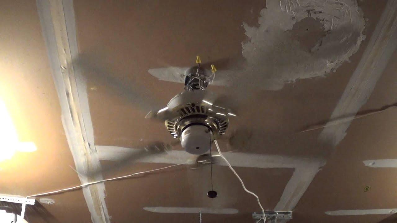 Casablanca Lady Delta Ceiling Fan 1 Of 2 Youtube