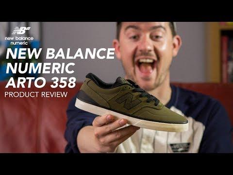 1dbeeeb6203c9 New Balance Numeric Arto 358 Skate Shoe Review - Rollersnakes.co.uk -  YouTube